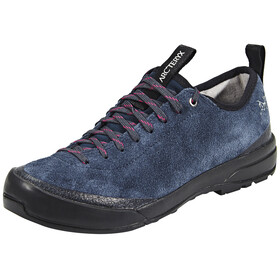 Arc'teryx Acrux SL Leather Approach Shoes Women Blue Nights/Orion